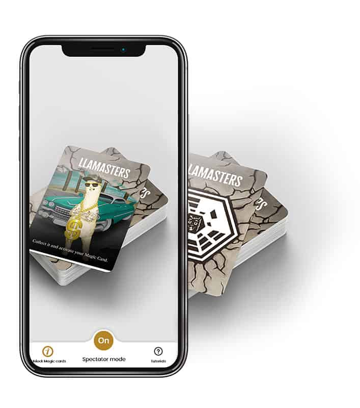 Augmented Reality Llamasters