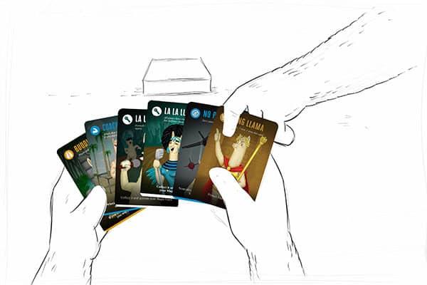 Llamasters cards